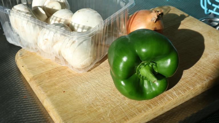 Gevulde paprika met couscous en champignons