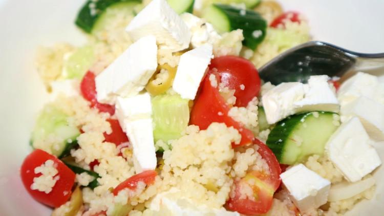 Recept voor heerlijke vegetarische couscoussalade