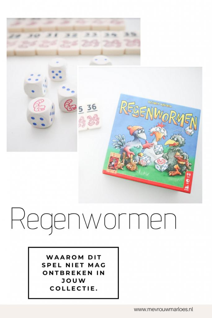 Dobbelspel Regenwormen | Aanrader of niet?