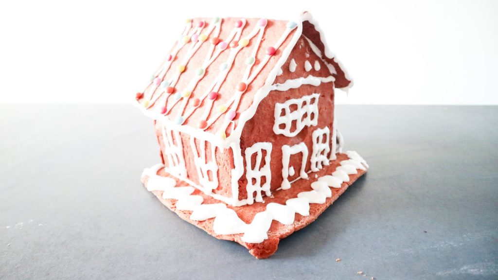 Gingerbread house mix