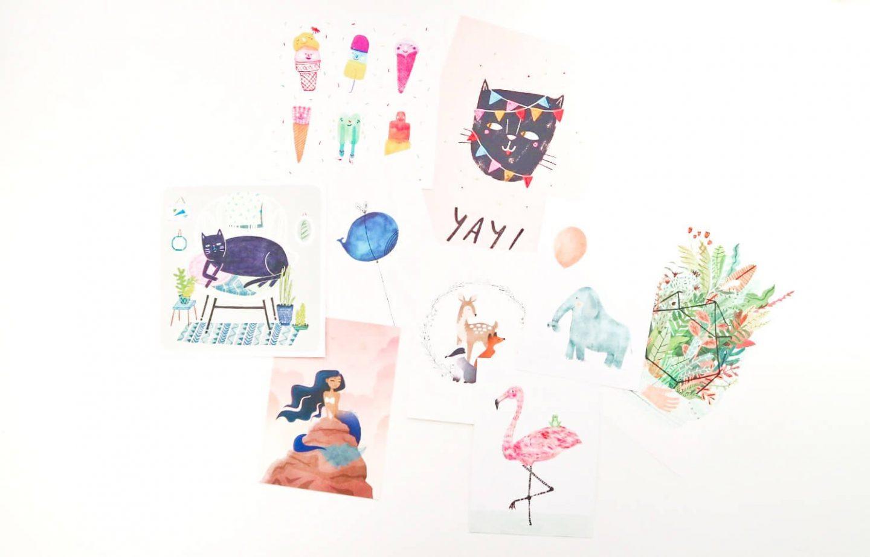 Ansichtkaarten kopen bij kleine ondernemers