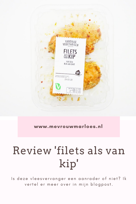 Review 'Filets als van kip' van de Albert Heijn