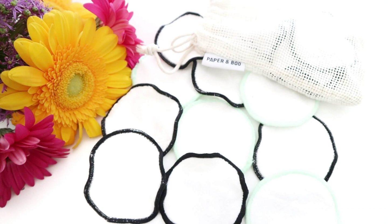 Wasbare wattenschijfjes van Paper & Boo