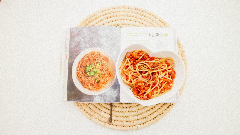 Spaghetti bolognese met linzen