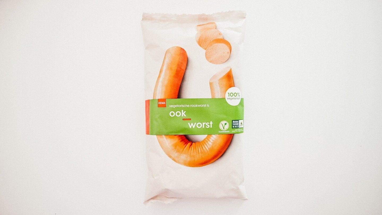 HEMA vegetarische OokWorst review