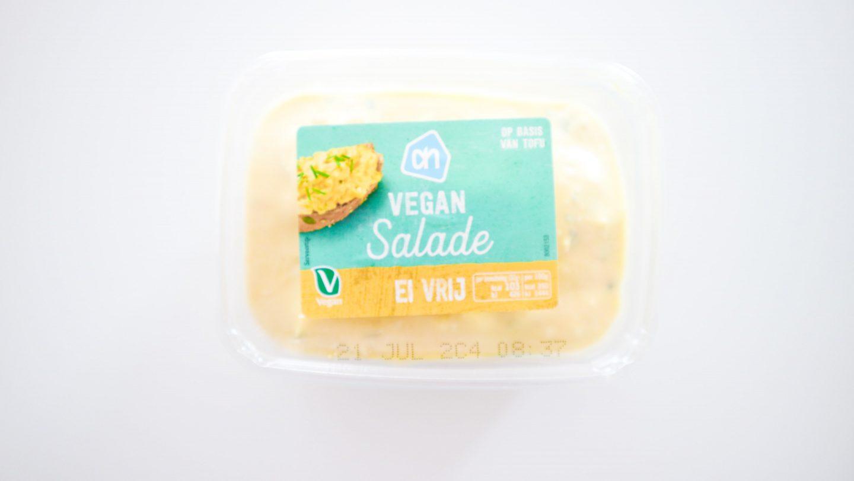 AH vegan salade ei vrij review